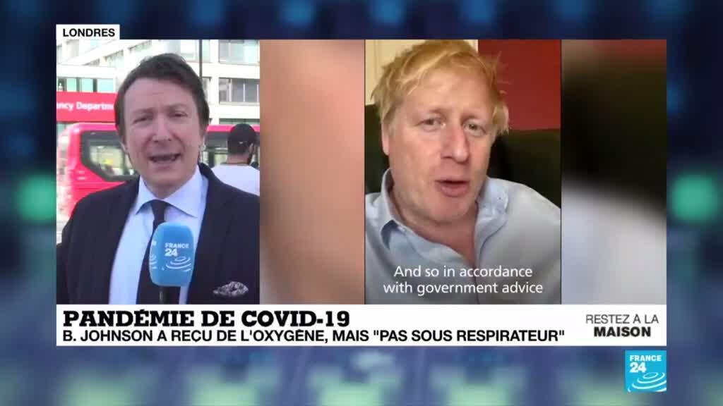 "2020-04-07 12:02 Covid-19 au Royaume-Uni : Bojo en soins intensifs, mais ""pas sous respirateur"""