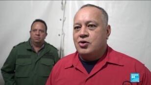Le président de l'Assemblée nationale constituante, Diosdado Cabello.