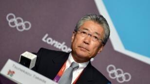 El presidente del Comité Olímpico japonés, Tsunekazu Takeda, en una imagen de archivo.
