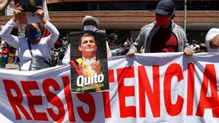Seguidores Correa Ecuador Quito