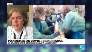 """2020-06-12 14:06 Covid-19 en France : le Conseil scientifique estime que l'épidémie est """"contrôlée"""""""