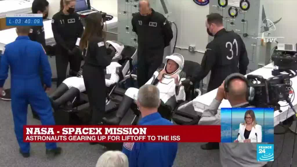 2021-04-23 08:09 SpaceX: What astronauts think about before liftoff