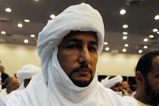 """بلال أغ الشريف زعيم تنسيقية حركة """"أزواد"""" التي تضم المجموعات المتمردة الرئيسية في شمال مالي"""