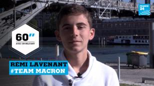Rémi Lavenant, jeune militant d'En Marche!