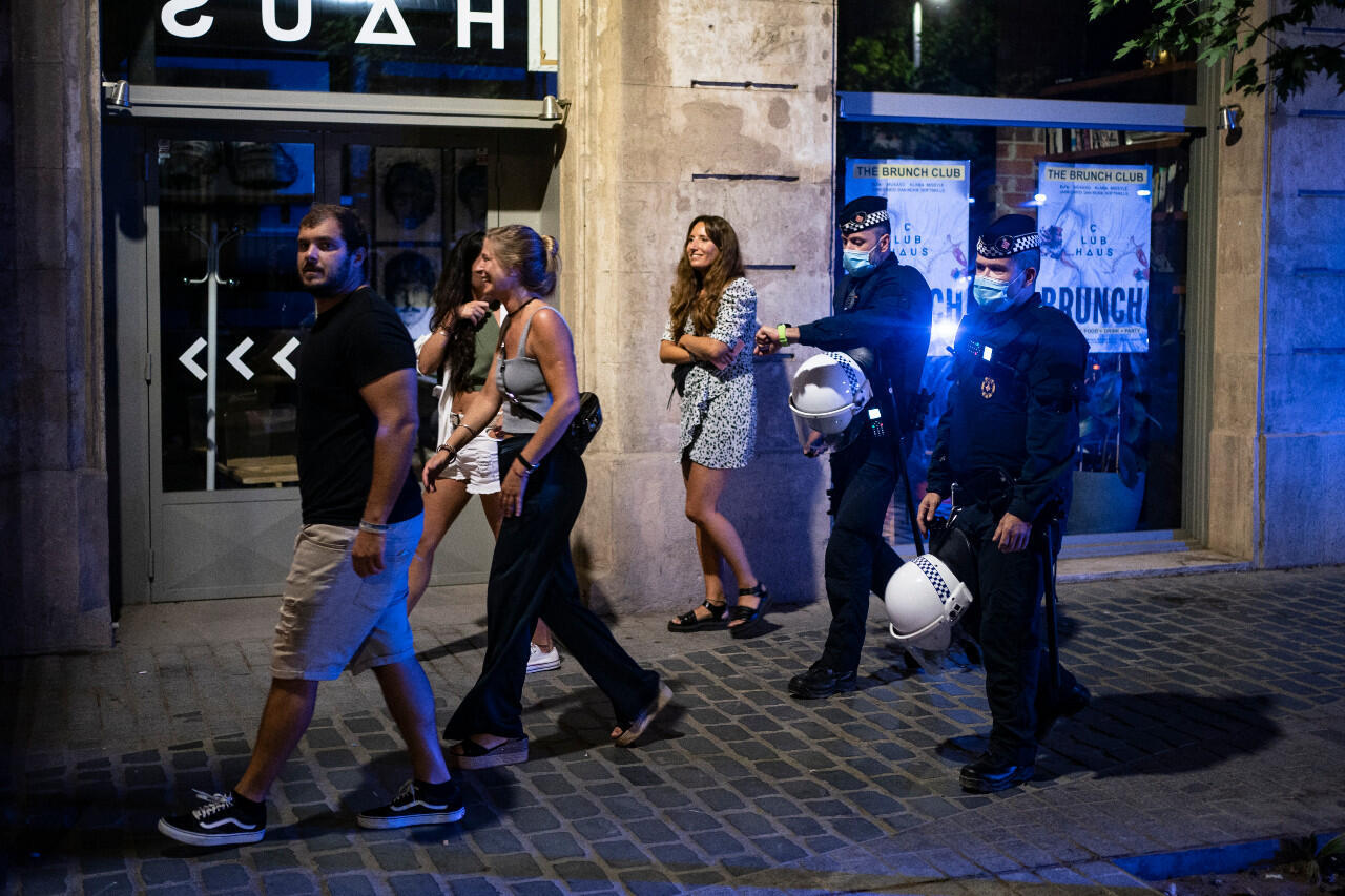 Barcelona nightlife Covid-19
