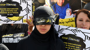 Une manifestation anti-torture organisée par Amnesty International à Rabat, le 26 juin 2014.
