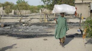 Le Tchad est fréquemment la cible d'attaques de Boko Haram. Ici, à Ngoboua en février 2015.