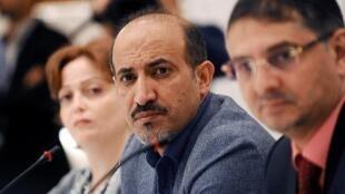 Le président de la Coalition nationale syrienne, Ahmad Jarba, à Istanbul