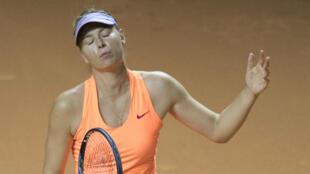 Pas de Roland Garros cette année non plus pour Sharapova.