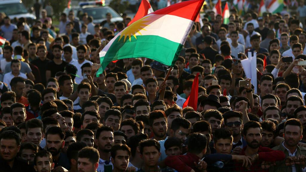 أربيل عاصمة إقليم كردستان العراق في 13 أيلول/سبتمبر 2017.