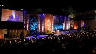El premier israelí, Benjamín Hentayahu, militares, integrantes del gobierno y sobrevivientes conmemoraron el Holocausto