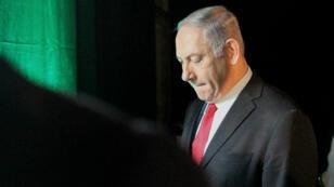 Le Premier ministre israélien, Benjamin Netanyahou, à Tel Aviv, le 14 février 2018.