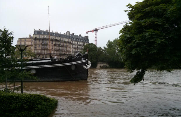 Authorities have warned the Seine could rise to almost six metres above its normal level on Friday.