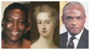 Lucy Banda Sichone, Lady Elizabeth Hastings et Sir Hugh Springer dont les portraits orneront désormais les murs d'Oxford.