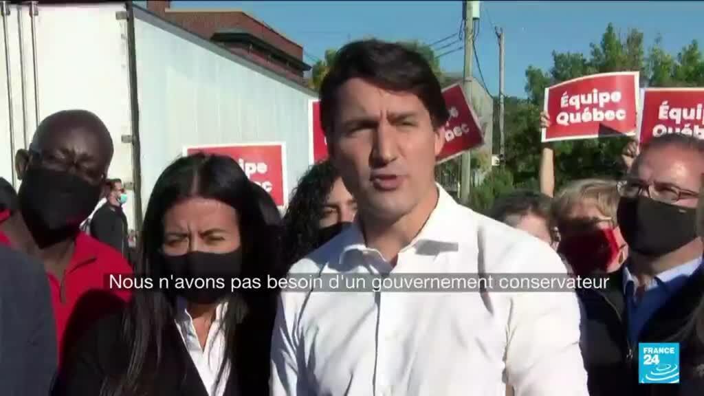 2021-09-20 10:41 Le Canada aux urnes, l'avenir politique de Justin Trudeau en jeu