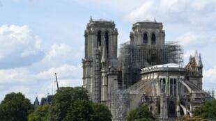 Notre-Dame de Paris le 13 juillet 2019