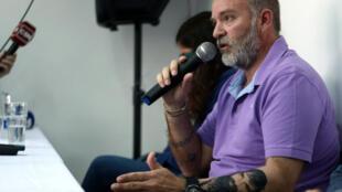 Sergio Maldonado, el hermano del activista mapuche encontrado muerto el 18 de octubre.