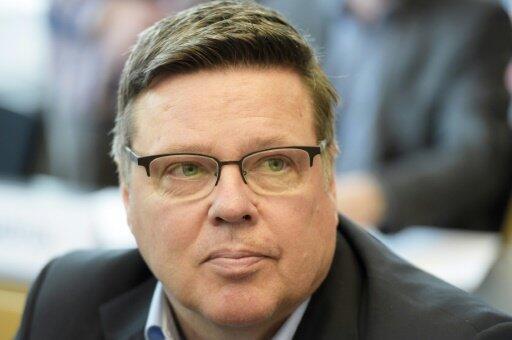 رئيس وحدة مكافحة المخدرات في فنلندا، جاريا أرنيو، في مايو/أيار 2015.