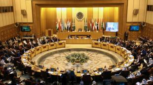 Los ministros de Exteriores de la Liga Árabe celebran una reunión de emergencia en El Cairo, Egipto.