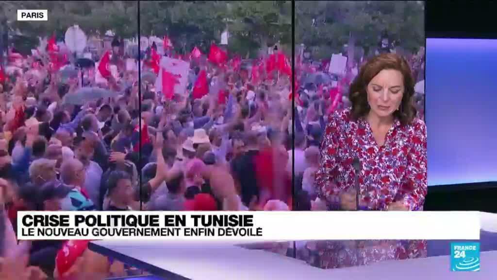 2021-10-11 13:37 Tunisie : un nouveau gouvernement en pleine crise politique