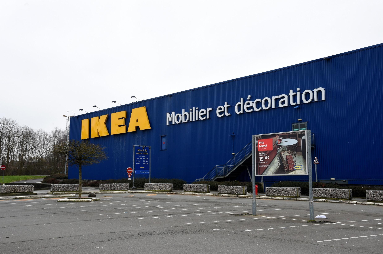 Un magasin Ikea à Lomme, dans le nord de la France, le 31 janvier 2021.