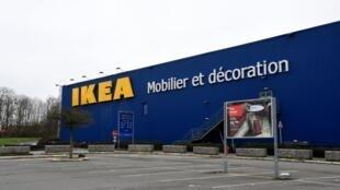 Un magasin Ikea à Lomme, dans le nord de la France, le 31 janvier 2021