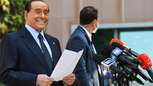 Berlusconi had already been hospitalised in September last year for coronavirus