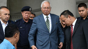 L'ancien Premier ministre malaisien Najib Razak, ici en août 2018 à Kuala Lumpur.