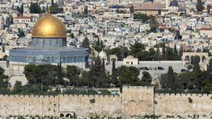 Vue générale de Jérusalem.
