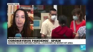 2020-09-18 18:01 Coronavirus pandemic: Spanish capital region orders partial lockdown
