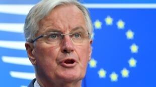 Michel Barnier le 19 mars 2019 à Bruxelles.