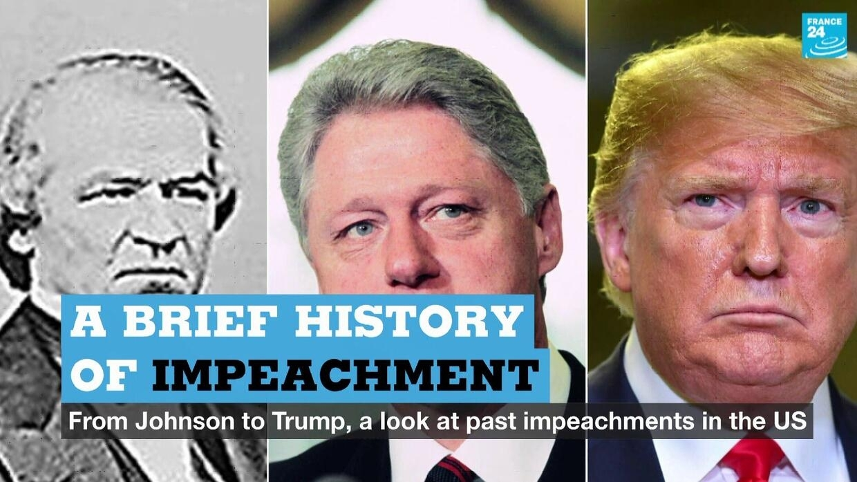 A brief history of impeachment: From Johnson to Trump