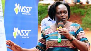 La ministre de la Santé ougandaise, Sarah Opendi.