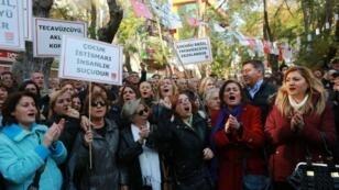 مظاهرة ضد مشروع القانون المثير للجدل