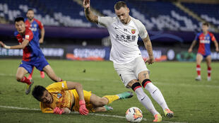 Marko Arnautovic has made a fast start to the new season with Shanghai SIPG