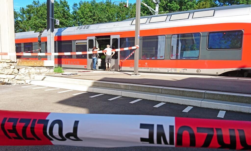 Un homme a attaqué les passagers d'un train en Suisse avec au moins un couteau et un liquide inflammable, samedi 13 août 2016.