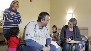 Ali Taha Ernad et sa famille à Boston