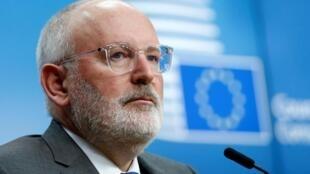 Frans Timmermans, es actualmente vicepresidente de la Comisión Europea y candidato de los socialdemócratas a la presidencia de la institución europea.