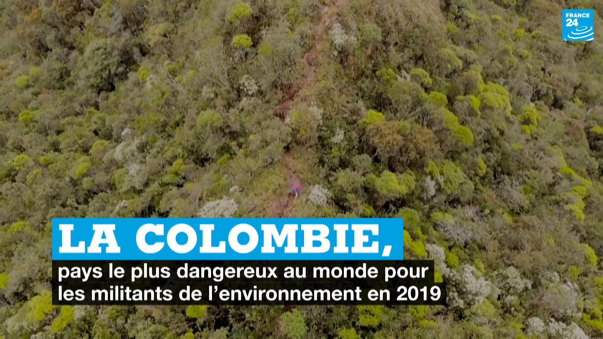Selon le bilan annuel de l'ONG britannique Global Witness, 212 défenseurs de l'environnement ont été tués en 2019. Avec 64 assassinats en Colombie, le pays devient le plus dangereux pour les activistes écologistes.