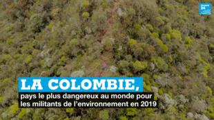 La Colombie, pays le plus dangereux pour les militants de l'environnement en 2019