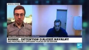 2021-01-28 13:08 Détention d'Alexeï Navalny en Russie : la justice doit se prononcer sur sa libération provisoire