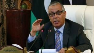 رئيس الوزراء الليبي السابق علي زيدان