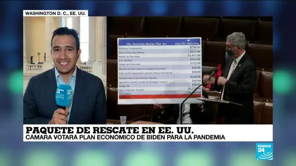 2021-03-10 18:02 Informe desde Washington: Cámara Baja vota plan económico de Biden para la pandemia