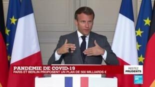 2020-05-18 17:21 REPLAY - Covid-19 en Europe : les précisions sur le plan de relance proposé par Paris et Berlin