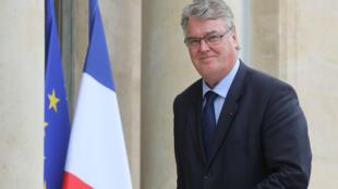 Jean-Paul Delevoye, haut-commissaire à la réforme des retraites, à l'Élysée, le 19 juin 2019.