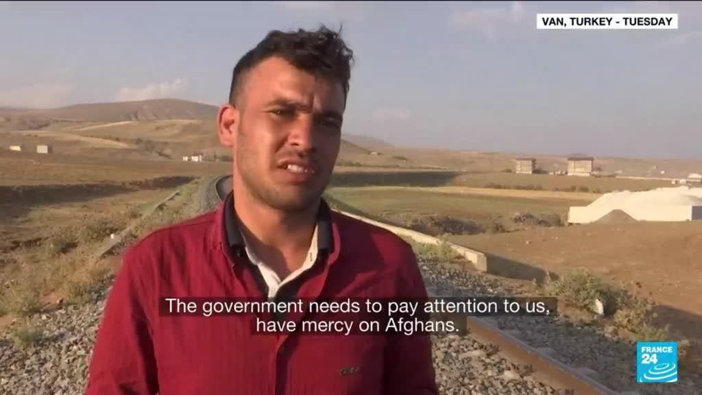 2021-08-18 18:03 Fearing Afghan refugee influx, Turkey reinforces border