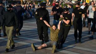 BELARUS-PROTEST-CRACKDOWN