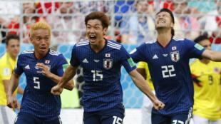 Le Japon, première nation asiatique à battre un pays sud-américain dans un Mondial.