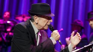 Leonard Cohen, le 18 décembre 2012, au Madison Square Garden de New York.