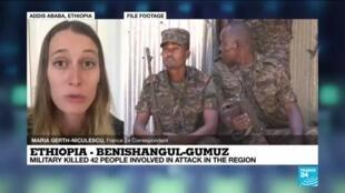 2020-12-24 11:01 Ethiopia - Benishangul-Gumuz: Military kills 42 people involved in deadly attack